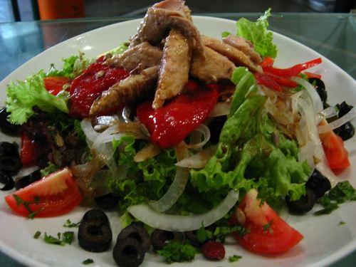 Restaurante cocina española, peruana e internacional