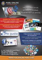 Publi Online:Diseño Web-Posicionamiento Web-Publicidad en Facebook pa