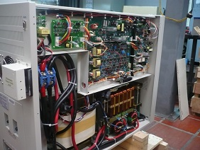 15 KVA UPS Single phase 120 VAC outlet . Industrial Type