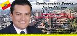 kolumbianischen Sprecher und Motivator Javier Moreno