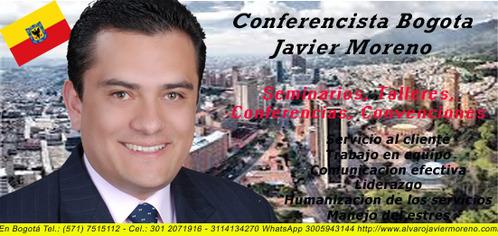 conferencista y motivador colombiano javier moreno