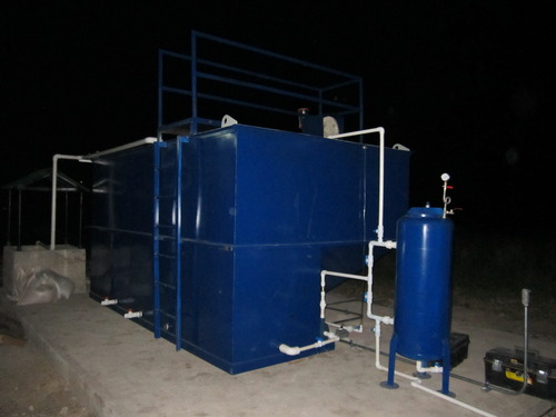 ptar compact treatment plant wastewater