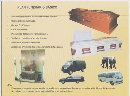 Plan Funerario Básico