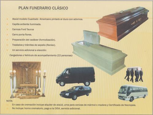 Plano Funeral clássico
