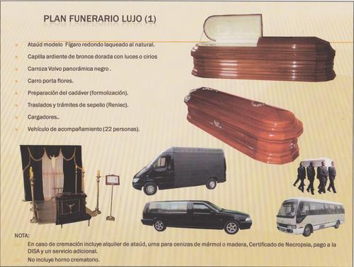 Plano Funeral Luxo