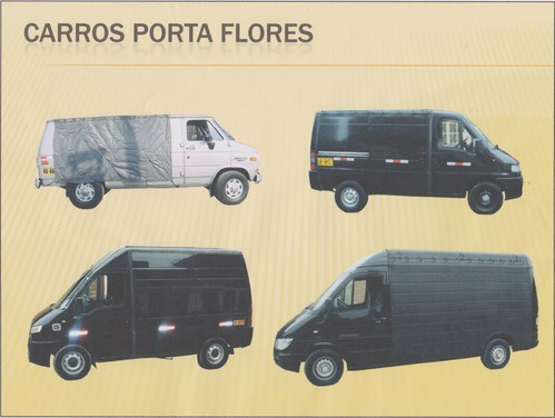 Carro Porta flores