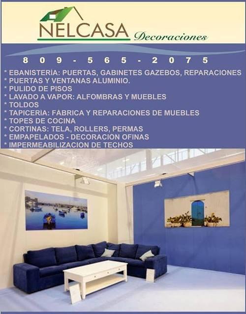 Fábrica de muebles, reparación, tapicería y ebanistería