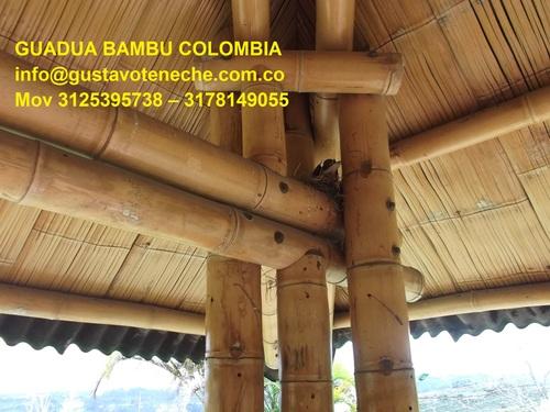 CONSTRUCCIONES EN GUADUA