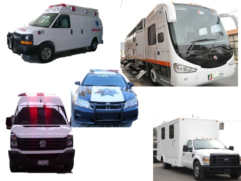 MOBILE UNITS FOR AMBULANCE MASTROGRAFIA