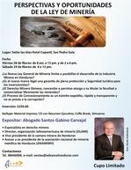 Seminario ley de la minerìa