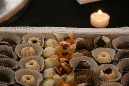 Fina y dulce decoración...!