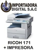 FOTOCOPIADORA MULTIFUNCIONAL RICOH MP171