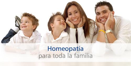 Homeopatia para toda la familia