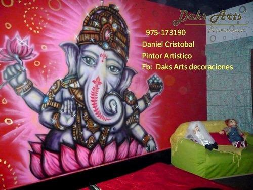 murals, decoration , graffiti , mural painting, painter