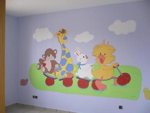 Murales para Kinders