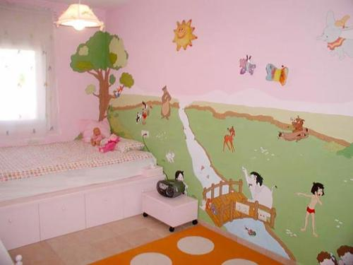 Beautiful murals for babies