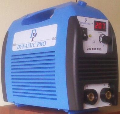 Maquina Soldadora Inversora Smaw/Tig DYNAMIC PRO-China Mod.200 ARC PRO