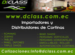 cortinas importadores-de-in-Quito-Equador