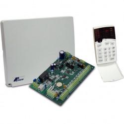 Panel de Control CROW y teclado LED