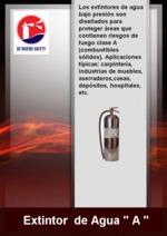 Água Extintores Classe A