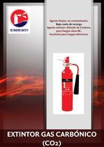 Extintor de Gas Carbónico Clase BC