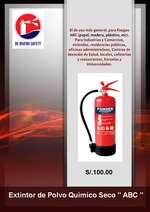 Extintor de Polvo Químico Seco Clase ABC
