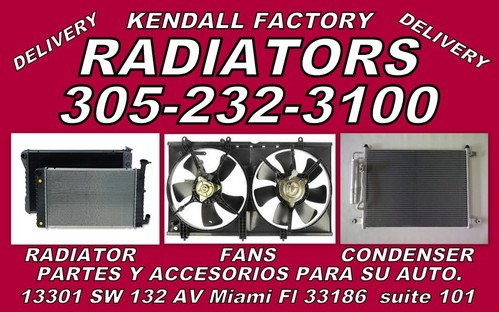 KENDALL FACTORY RADIATORS
