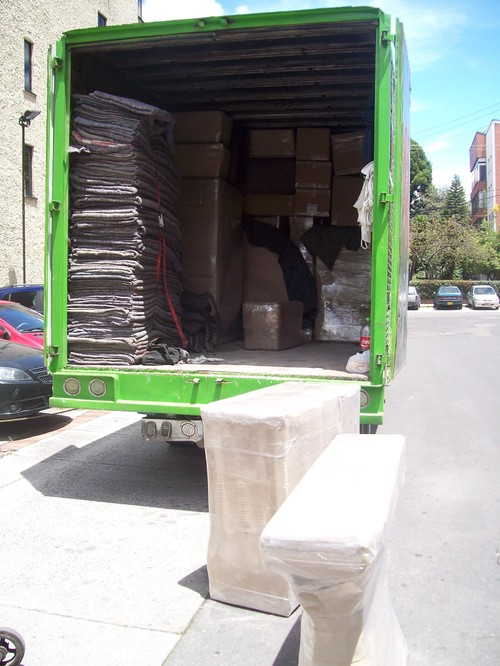 Camiones de Traslado de Mudanzas - Colombia