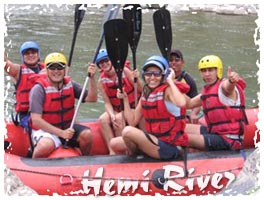 Canotaje - Rafting en el Río Cañete, Lunahuaná