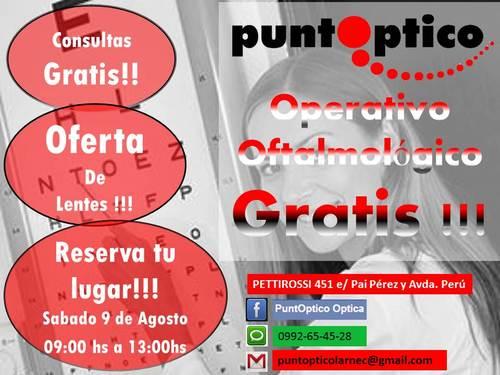 Operativo Oftalmologico!!!