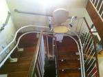 Cadeiras de escadas inclinadas ou