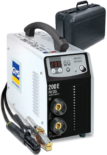 Maquina de Soldar Portatil Smaw/Tig GYS-Francia Mod PROGYS 200E FV CEL