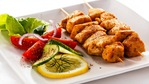 Chicken kebabs plus