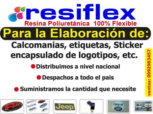 resina flexible ecuador