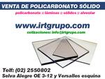 venta de policarbonato alveolar
