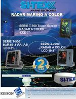 radares marino a color lcd