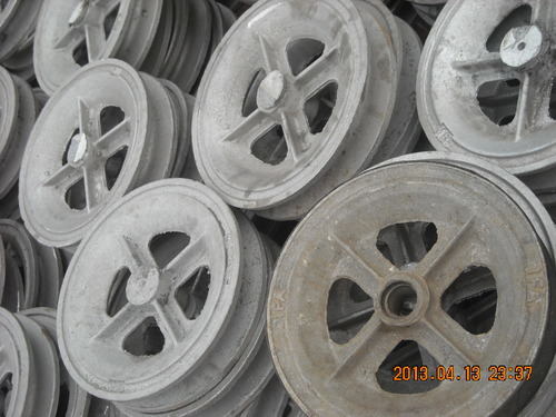 Duralumin pulleys