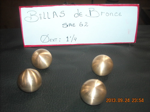 Billas de Bronce