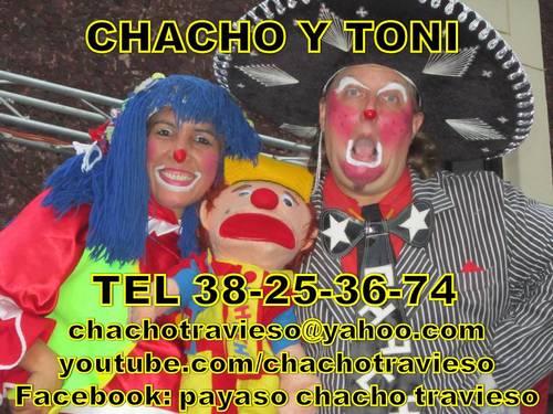 PAYASOS EN GUADALAJARA CHACHO Y TONI