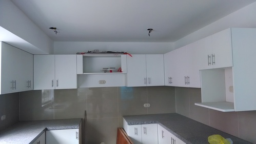 kitchen cabinets in melamine white 18mm NOVOKOR