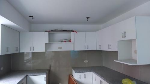 reposteros de cocina en melamine color blanco NOVOKOR de 18mm