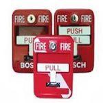 pulsador contra pánico, fuego
