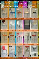 Venta directa con precios de fabrica de sillas, taburetes, mesas