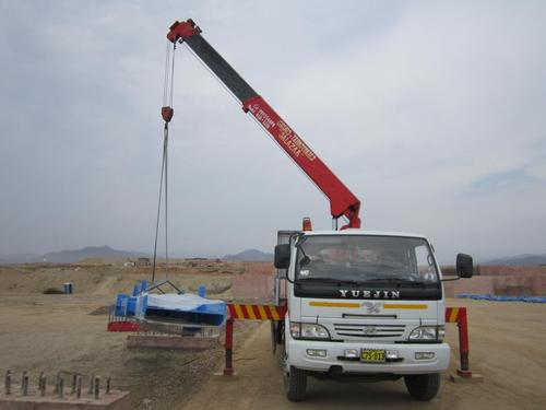 rental of cranes and telescopic cranes from 3TN up to 100t