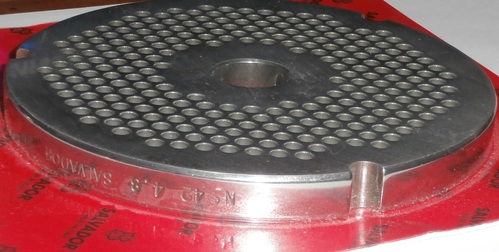 Used disk Hobart Meat Grinder Brand Type Salvador-Italy