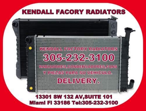 RADIATORS FOR CARS AND TRUCKS