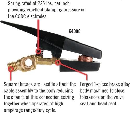Antorcha de Corte por Arco de Carbon Aire Marca Arcair Modelo K-4000