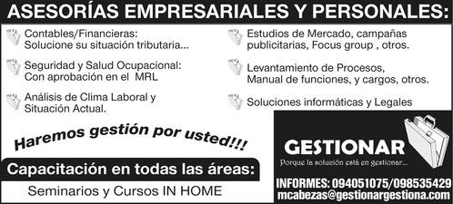 Asesorias empresariales en Machala