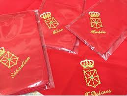 Pañuelos para peñas bordados