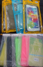 fornecimento iPhone 4S / 5 / 5C / 5S / 6/6 + casos tampa transparente / TPU Luminous